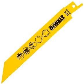 DeWalt Fast Ferr+Non-Ferr Reciprocating Blade (Pkt5)