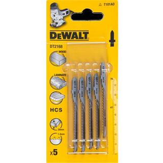 DeWalt HCS Jigsaw Blades Curve Cuts in Wood (Pkt5)
