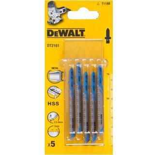 DeWalt HSS Jigsaw Blade for Thick Metal (Pkt5)