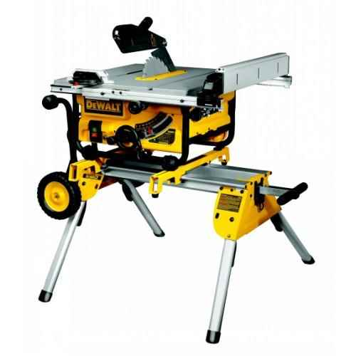 Dewalt Dw745rs Table Saw With Stand Dw745 De7400 240v