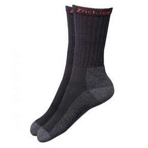 Dickies Black Industrial Work Socks 2pk (6-11)