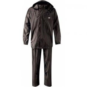 Dickies Black Vermont Waterproof Suit