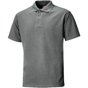 Dickies Grey Short Sleeve Polo Shirt