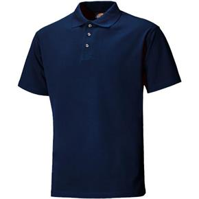 Dickies Navy Short Sleeve Polo Shirt