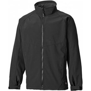 Dickies Black Softshell Jacket