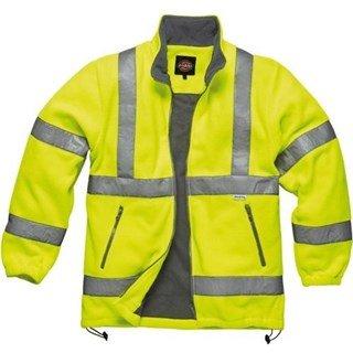 Dickies Yellow Hi-Vis Lined Fleece