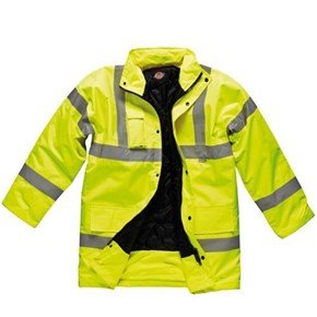 Dickies Yellow Hi-Vis Motorway Jacket