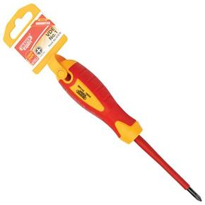Draper Fully Insulated Screwdriver No.1 Cross Slot x 80mm