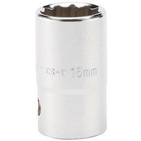 Draper 16mm 12pt Socket 1/2in Drive