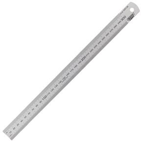 Draper Expert 300mm Stainless Steel Rule (mm, cm, inches)