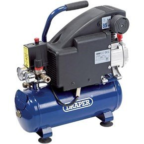 Draper 24975 8L 0.75kW Air Compressor
