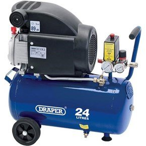 Draper 24980 24L 1.5kW Air Compressor