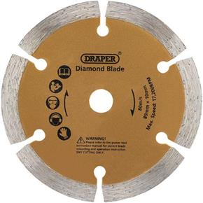 Draper 89mm Diamond Plunge Saw Blade for Tile