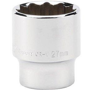 Draper 27mm 12pt Socket 1/2in Drive