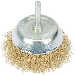 Draper Hollow Wire Cup Brush 75mm