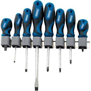 Draper 8pc Soft Grip Screwdriver Set