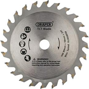 Draper 89mm TCT Plunge Saw Blade for Wood