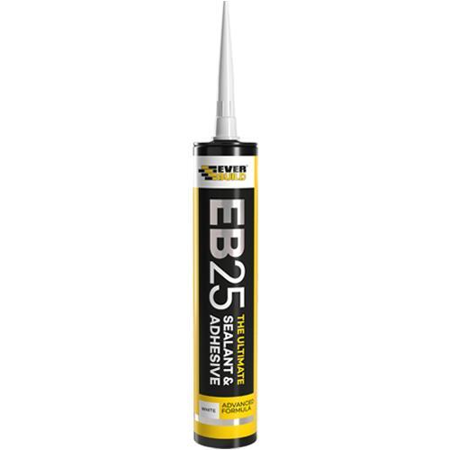 Everbuild EB25 Ultimate Sealant & Adhesive White 300ml