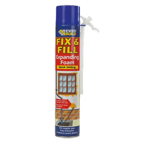 Everbuild Fix & Fill Expanding Foam (750ml)