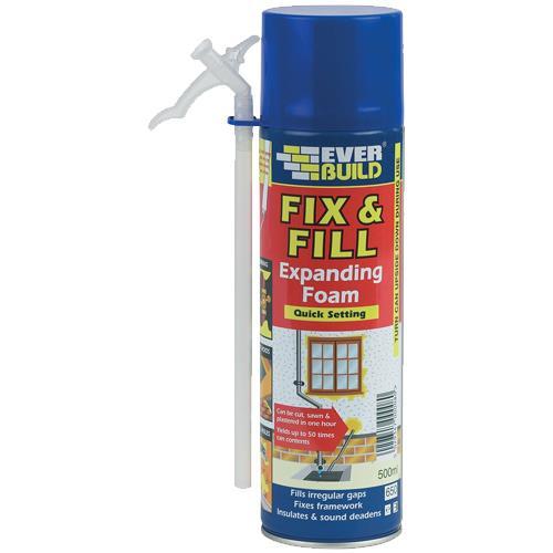 Everbuild Fix & Fill Expanding Foam (500ml)
