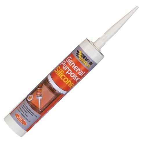 Everbuild General Silicone (Clear)
