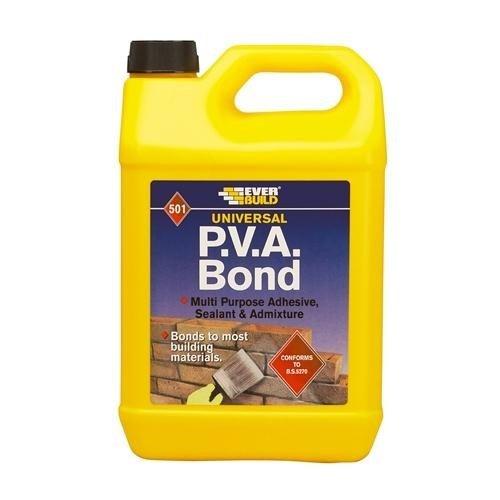 Everbuild PVA Bond 501 (5 Litre)