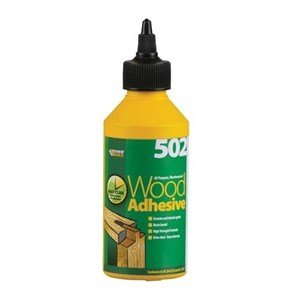 Everbuild 502 Waterproof Wood Adhesive 1litre