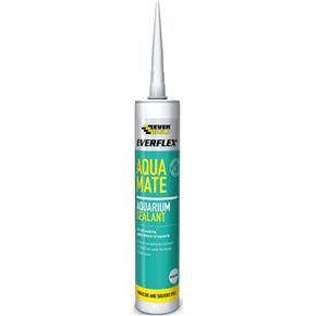 Everbuild Aqua Mate Silicone Sealant (Clear)