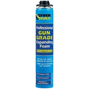 Everbuild Gun Grade Expanding Foam (750ml)