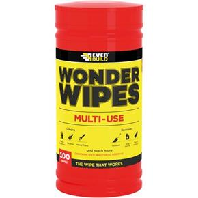 Everbuild Multi-use Wonder Wipes (Tub of 100)