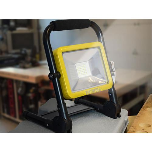 Faithfull Folding Rechargeable SMD LED Work Light