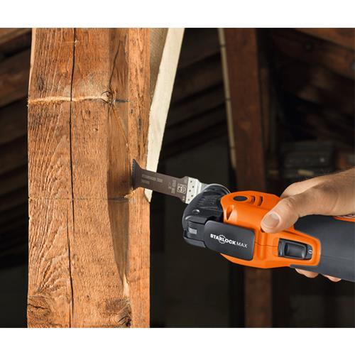 Fein AFSC18QSL 18V StarlockMax Multi-tool Woodwork Kit (1x 6Ah)