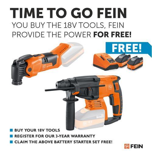 Fein CCG 18-125 BL 18V 125mm Brushless Grinder (Naked, Case)