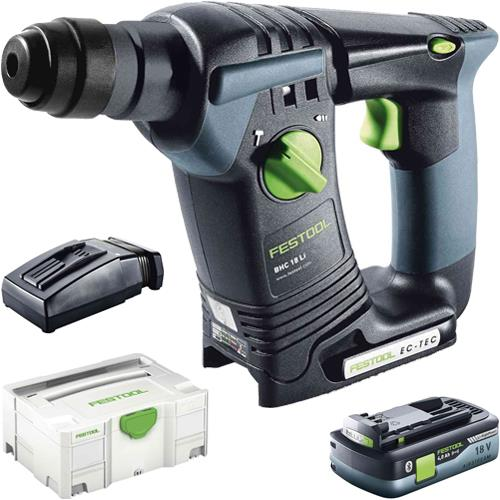 Festool BHC18 18V Brushless SDS Drill (1x 4Ah High-power)