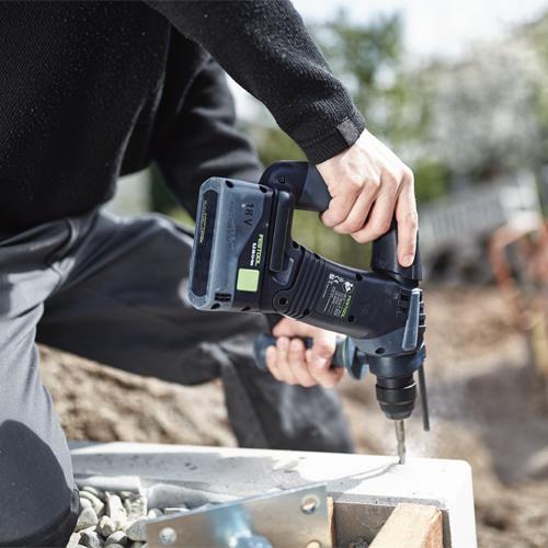 Festool BHC18 18V Brushless SDS Drill (2x 6.2Ah Bluetooth)
