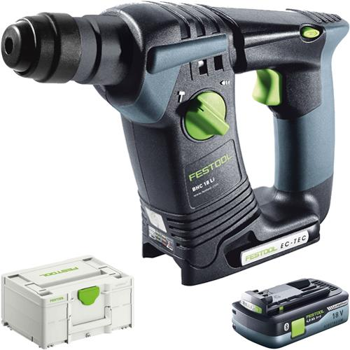 Festool BHC 18 18V SDS Drill (Naked) *PROMO* with 4Ah Battery