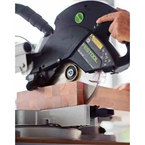 festool ks 120 eb 260mm sliding compound mitre saw 110v. Black Bedroom Furniture Sets. Home Design Ideas