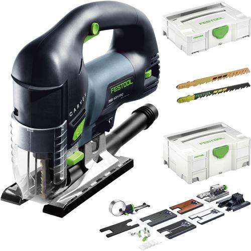 Festool PSB 420 EBQ Top-handle Jigsaw + Accessories
