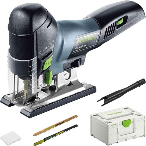 festool psc 420 brushless 18v jigsaw body only in systainer. Black Bedroom Furniture Sets. Home Design Ideas