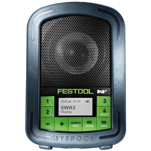 Festool SYSROCK BR10 DAB+ Digital Site Radio