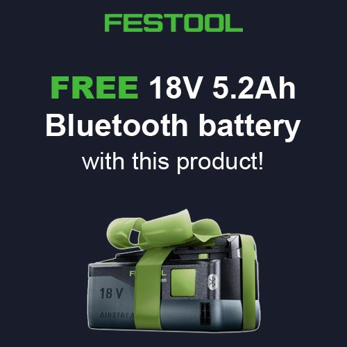 Festool T18+3 18V Brushless Drill Driver Set (2x 4Ah High-power)