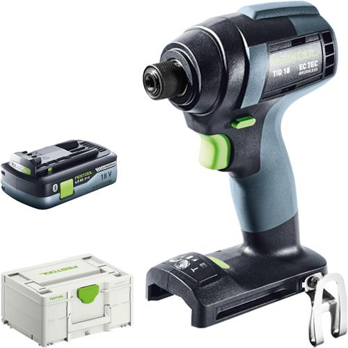 Festool TID 18 18V Impact Driver (Naked) *PROMO* with 4Ah Battery