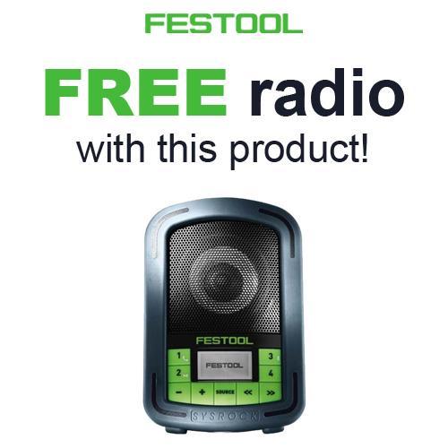 Festool TKS 80 2200W 254mm SawStop Table Saw Set