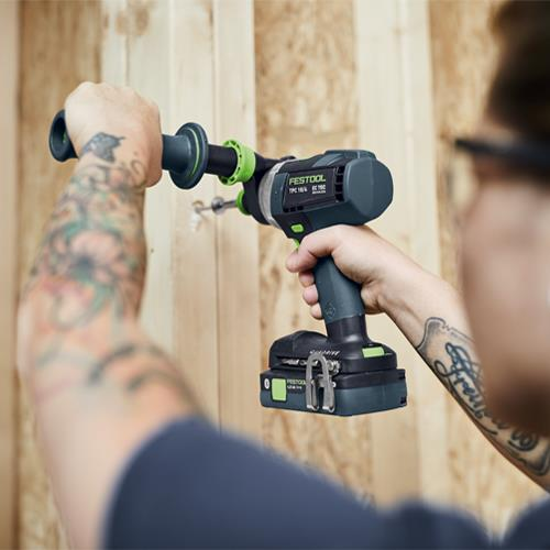 Festool TPC 18/4 18V Brushless Combi Drill (4Ah High-power & 5.2Ah)