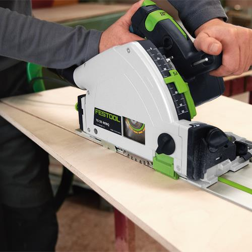 Festool TS 55 R EBQ Plunge Saw and Guide Rail 240v
