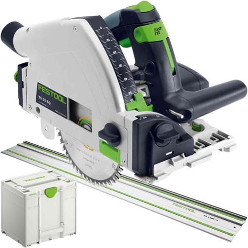 Festool TS 55 R EQ Plunge Saw and Guide Rail 110v