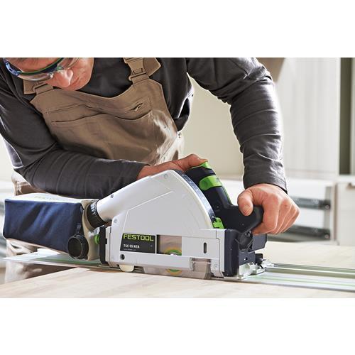 Festool TSC 55 18V 160mm Plunge Saw + 1.4m Rail (2x 5.2Ah Bluetooth)