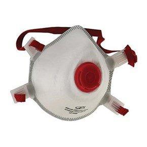 FFP3 Moulded Disposable Respirators (5pk)