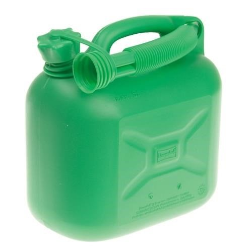 5 Litre Green Petrol Can