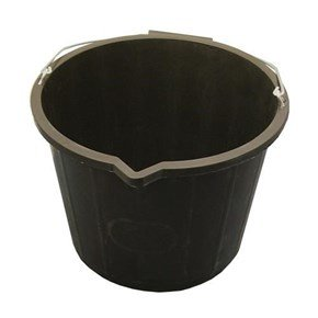 14L Builders Bucket (Black)